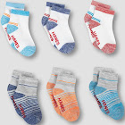 Toddler Boys' 6pk Ankle Socks - Hanes Colors May Vary 2T-3T, Boy's, Multicolored