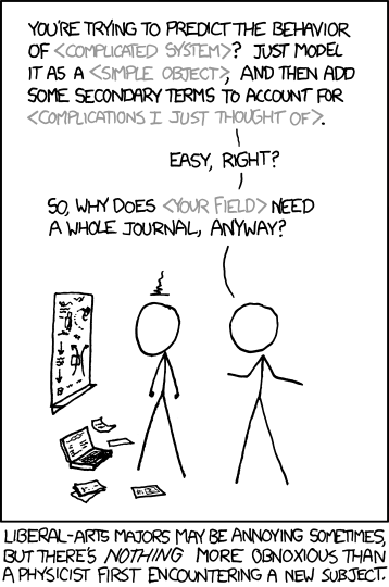 xkcd, 'Physicists'