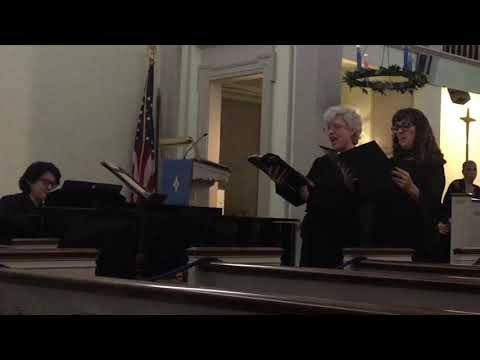 Performing with Bronx County Chorus December 2018