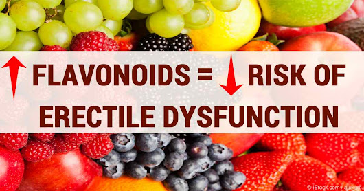 Foods High in Flavonoids May Help With Erectile Dysfunction