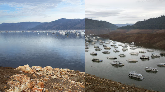 Then & Now | Lake Oroville one year later