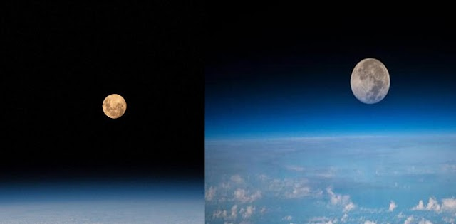 ISS shares stunning images of 'Super Moon'