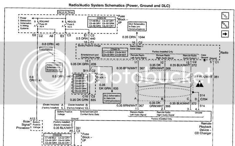 Corvette Bose Amplifier Wiring Harnes - Wiring Diagram