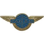 PilotMall.com Pan Am Jr. Clipper Stewardess 3D Retro Wing Pin