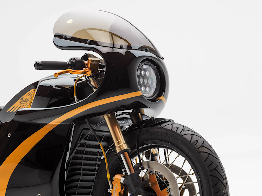 The PJ Grakauskas Indian Scout Racer