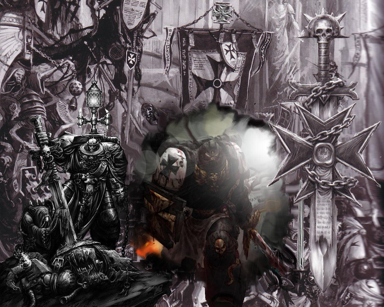 Black Templars Warhammer 40k Wallpaper 10228039 Fanpop