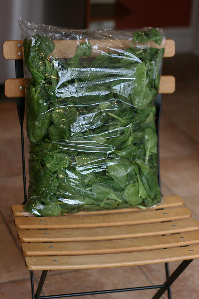 bag o spinach