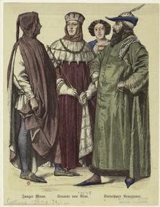 Junger Mann ; Senator von Rom ... Digital ID: 810624. New York Public Library