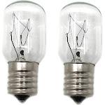 Whirlpool 8206232a Intermediate Screw Base Light Bulb (Pack of 2)