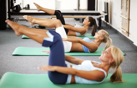 Pulling in the Abdominals in Pilates