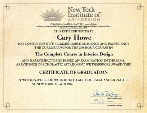 Interior Design School   New York Institute of Art and
