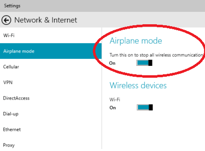 Fixing Airplane Mode Won T Turn Off In Windows 10 Windows Bulletin Tutorials
