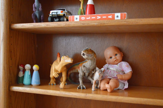 Decluttering the Playroom - Misadventures with Megan