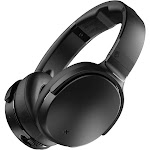 Skullcandy Venue Bluetooth Wireless On-Ear Headphones with Mic - Noise-Canceling - Black