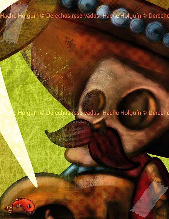 Literatura mejicana por Hache Holguín, detalle