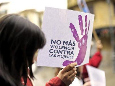 Protesta contra la violencia de género. Archivo EFE