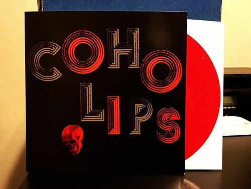 "Coho Lips - Less of Everything 7"" - Red Vinyl by Tim PopKid"