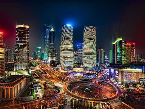 shanghai world financial  trade center  china highly