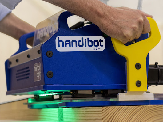 Handibot™: A Smart Digital Power Tool
