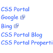 Visual External Link with CSS - CSSPortal
