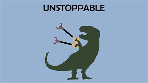 Tyrannosaurus rex arms graphics simple background