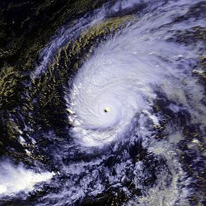 Typhoon Paka on December 15 at approximately 0...