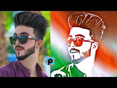 15 August Picsart Photo Editing HD (2018) Latest Edition | A.k Editz | Independence Day Editing