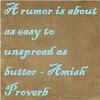 rumor butter
