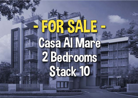 Casa Al Mare 2 Bedrooms Stack 10 For Sale | Freehold at District 18