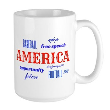 Celebrate America Large Mug
