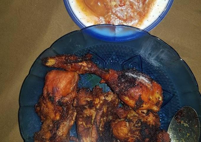 Jhuie Fried Chicken Recipe Makes Nagih