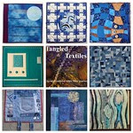 Tangled Textiles, challenge #9: blue