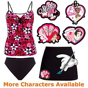 Create-Your-Own Tankini Swimsuit for Women -- 3-Pc.