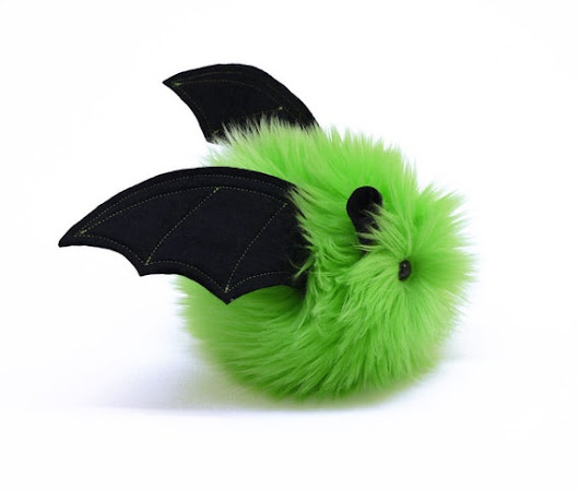 Stuffed Bat Stuffed Animal Cute Plush Toy Kawaii Plushie