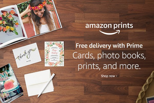 Photo printing finally made as easy as using Amazon. #AmazonPrints