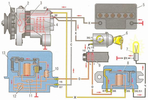статья про генератор автомобиля ВАЗ 2106 - устройство, особенности конструкции