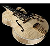 Gibson Custom Shop HS5SNAGH1 Hollow-Body Electric Guitar, Natural