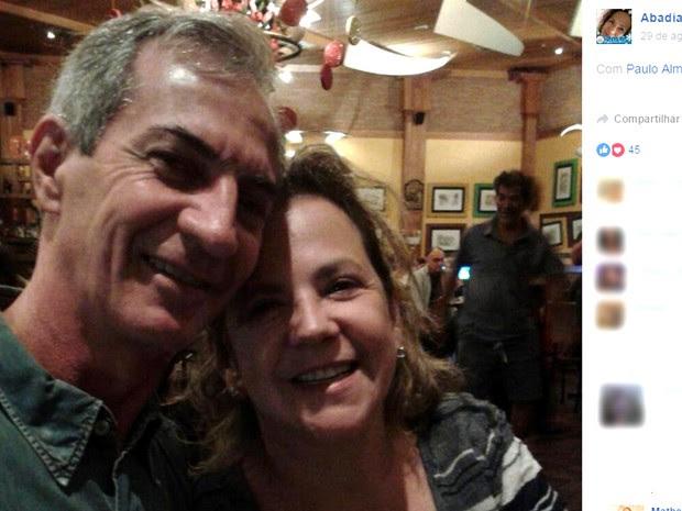 Abadia e Paulo eram casados e foram assassinados na chacina em Campinas. (Foto: Reprodução / Facebook)
