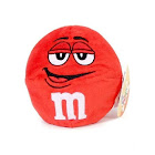 M&M's Chocolate Candy Character Face Plush Beanie Ball