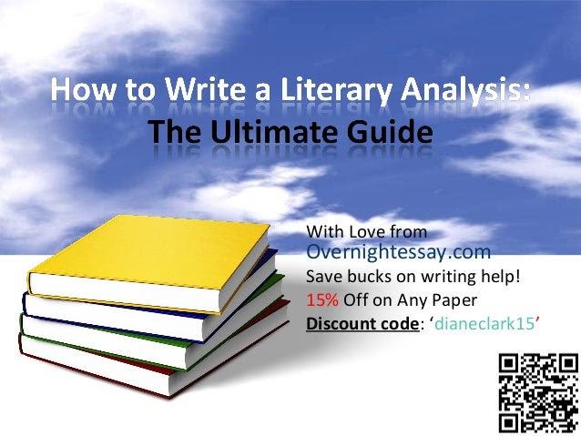 how to write a critical analysis essay x 1