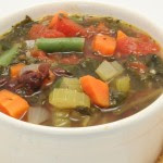 Black Bean Minestrone