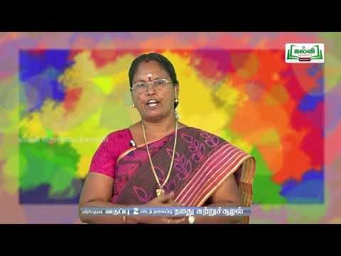 2nd Evs நமது சுற்றுச்சூழல் பாடம் 1 Kalvi TV
