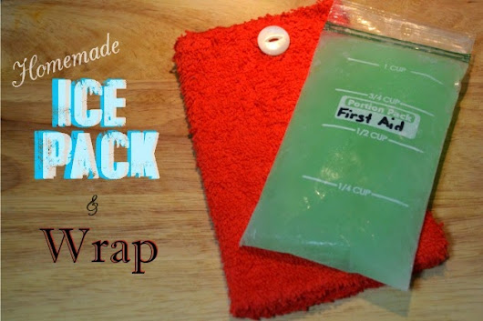 Homemade Reusable Ice Pack & Wrap | Fluster Buster