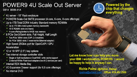 IBM i and POWER9: Extreme Stability with Massive Scalability | Arbor Solutions
