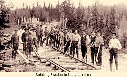 Building Sweden in the late 1800s