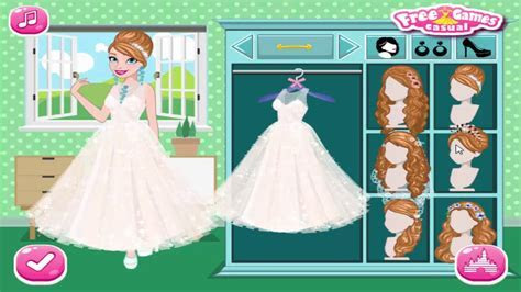 Frozen Elsa and Anna Wedding Party and Anna dress up