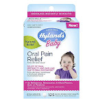 Hylands Baby Natural Oral Pain Relief Tablets, 125 Ea