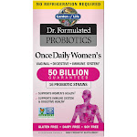 Garden of Life Dr. Formulated Probiotics, Once Daily Women's, Vegetarian Capsules - 30 capsules