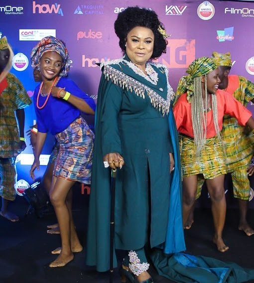 All the Photos! Kemi Adetiba, Michelle Dede, Sola Sobowale, Ini Dima-Okojie at 'King of Boys' Premiere