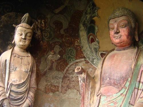 Ahora complejo budista Maytszishan conserva como un museo, y muchas de las cuevas cerrado al público.